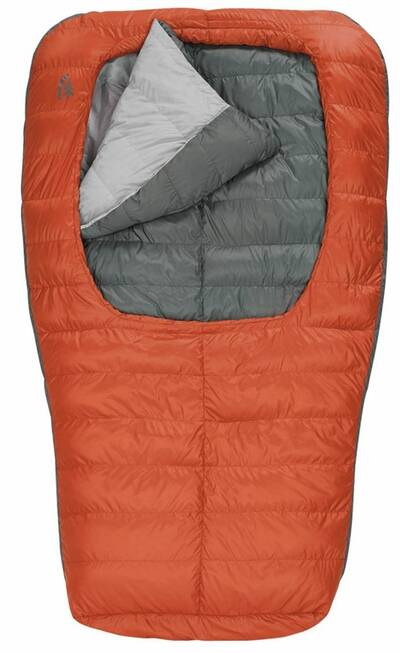 couples sleeping bag backcountry bed duo