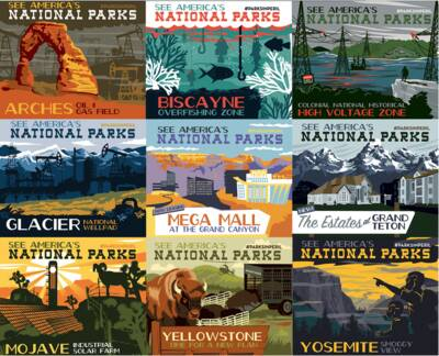 national park convservation association #parksinperil nine parks