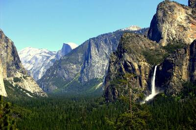 yosemite half dome national parks annual pass