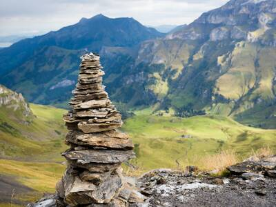 lukas de clercq backpacking and photography cairn