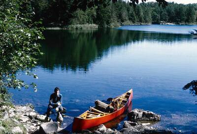 save the boundary waters wooden-canoe