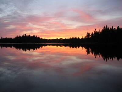save the boundary waters Pose lake Minnesota