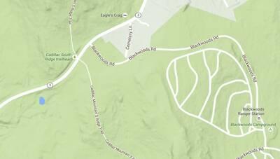 south ridge trail cadillac mountain