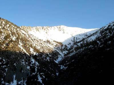 san antonio falls and mount baldy