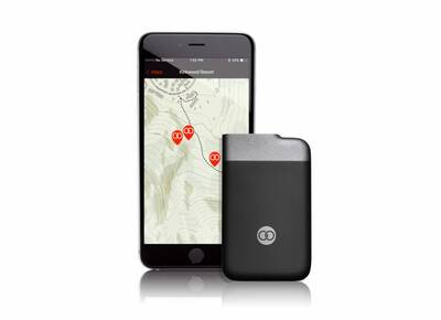 Beartooth device iphone smartphone maps
