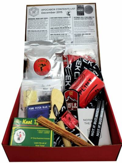 apocabox survival subscription box december