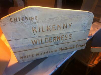 backpacking custom signs kilkenny wilderness