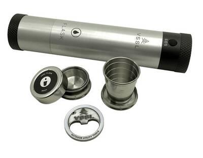 vssl flask original flashlight with storage