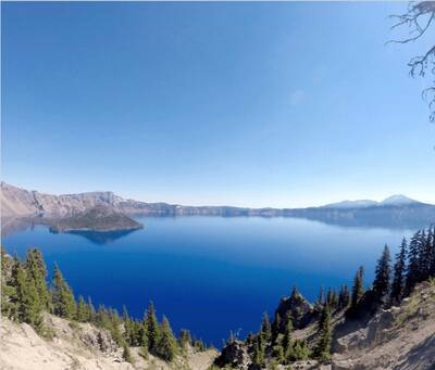 adventure and the pacific crest trail crater lake