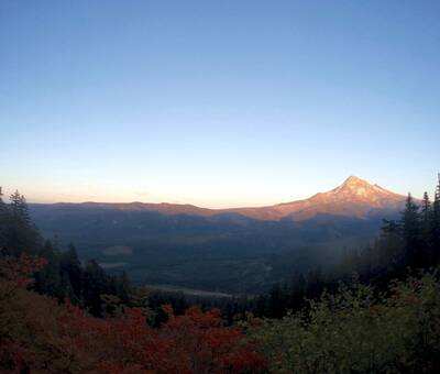 adventure and the pacific crest trail mt. hood