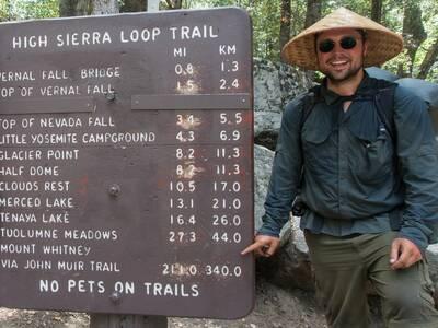 john muir trail in minutes high sierra trail
