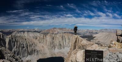 john muir trail in minutes panorama