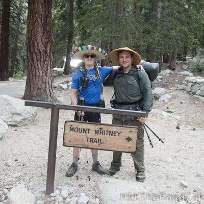 john muir trail in minutes zak and poncho libre
