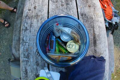 backpacking food primer bear canister