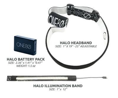 one80 full LED band headlamp
