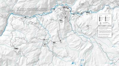 yosemite-glacier-point-hiking-map Every National Park Service Map