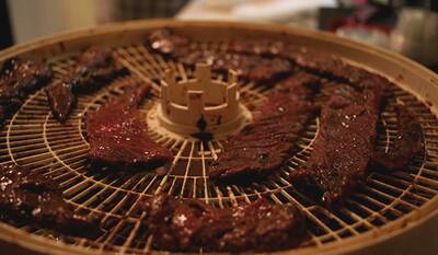Dehydrated Food for Backpackers dehydrating meat