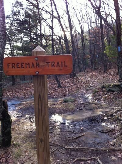 blood mountain loop appalachian trail freeman trail