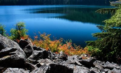 hike marion falls and lake marion lake