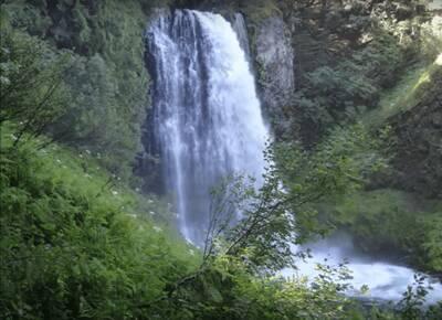 hike marion falls and lake gatch falls
