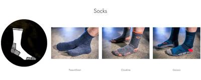 big outdoors cottage gear online retailer socks collection