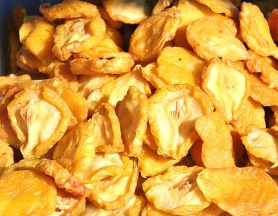 Dehydrated Food for Backpackers dehydrating fruit