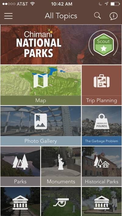 Chimani National Parks App General