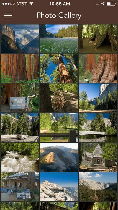Chimani National Parks App yosemite Photos