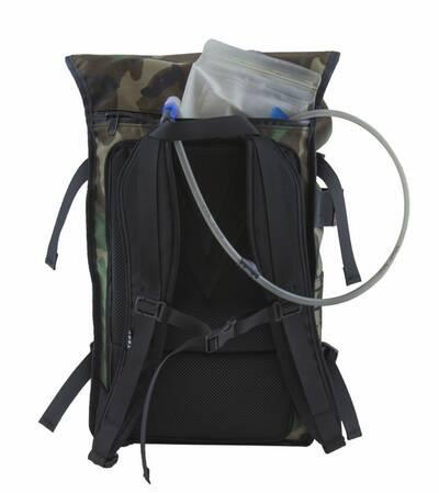wildland scout modular bushcraft backpack camo hydration bladder
