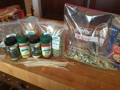 homemade backpacking Meals