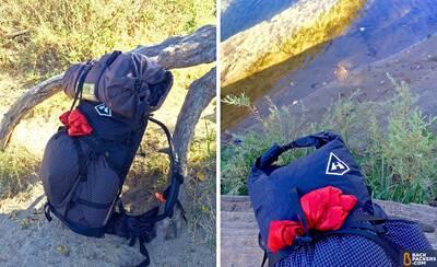 hyperlite-mountain-gear-southwest-3400-side-and-top Ultralight Waterproof Backpack