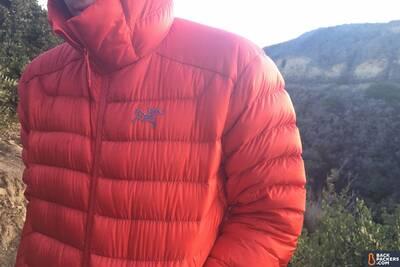 arcteryx-cerium-lt-hoody-logo Water Resistant Down jacket