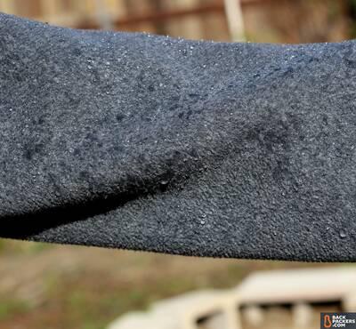 fleece-jackets-water-on-fleece Is Fleece Warm Is Fleece Breathable