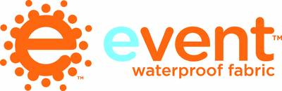 event-waterprooof-fabrics-logo rain jacket Waterproof Breathable