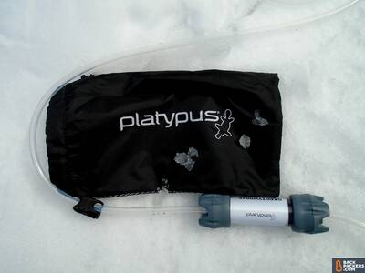 Platypus GravityWorks 4.0L Filter System-bag-and-filter