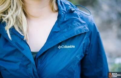 columbia arcadia ii affordable rain jacket logo-shot