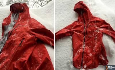 Patagonia M10 ultralight hardshell Rain Jacket blizzard