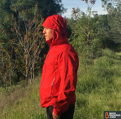 Patagonia M10 ultralight hardshell Rain Jacket fit