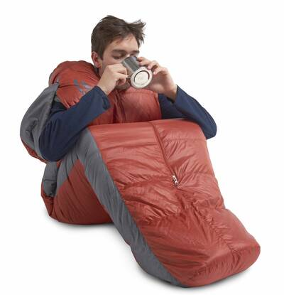 Sierra Designs Mobile Mummy wearable backpacking sleeping bag sleeping bags and quilts guide