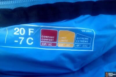 en testing sleeping bag temperature rating limits sleeping bags guide