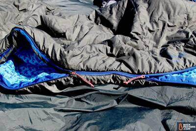 two zipper pulls camping sleeping bags and quilts guide