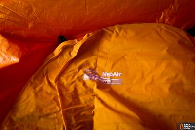 Therm-a-Rest-NeoAir-XLite-review-uninflated-pad