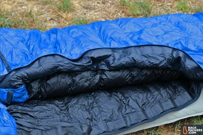 Western-Mountaineering-UltraLite-review-draft-tube