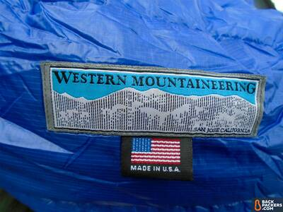 Western-Mountaineering-UltraLite-review-sleeping-bag-logo