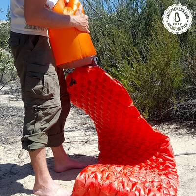 sea to summit comfort plus insulated sleeping mat award