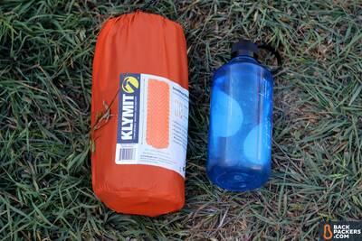Klymit-Insulated-Static-V-review-size-comparison