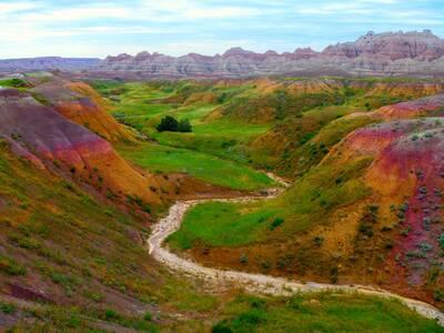 badlands national park courtesy QFamily