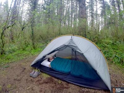 Kelty-Callisto-30-review-in-tent