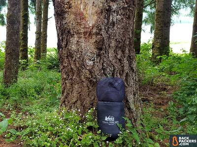 REI-Trail-Pod-29-review-bag-in-stuff-sack-2