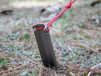 Vargo Titanium Dig Dig Tool as Tent Stake Outdoor Retailer best outdoor gear for 2018